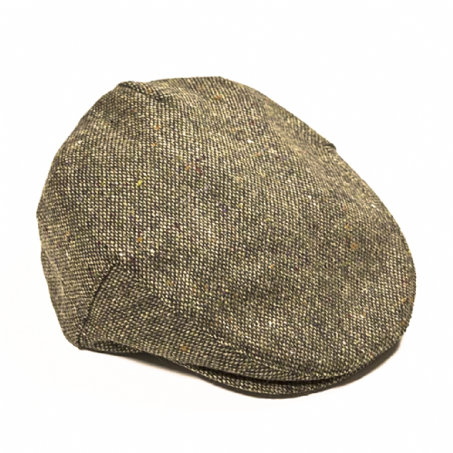 Handmade Irish Tweed Cap - Basil (H80)